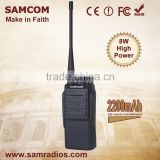 SAMCOM CP-700 8W Portable High Quality Wide Frequency Range Good Two Way Radio Walkie Talkie
