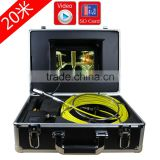 30M Handled Video Inspection Endoscope Snake Scope Pipe Camera With IP68