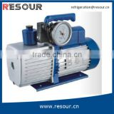 RESOUR Mini Air Vacuum Pump With Solenoid Valve And Vacuum Gauge, Single Stage & Double Stage