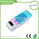 Wholesale cheap back up battery portable charger with LED torch made in China