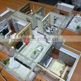 3D Maquette Internal layout scale model for sale