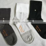 Anti-odour diabetes socks with silver fiber