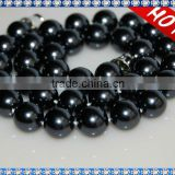 Popular 10mm Round Shape Sea Shell Pearl Necklace SSN007