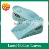 Foot cushion insert pad PVC massage plastic height increase insoles for high heel shoes