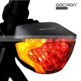 Gaciron Bicycle LED Signal Turning Brake Rear Tail Light Horn Bell Bike Indicator Lamp