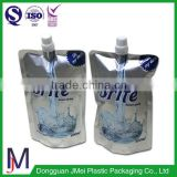 China Hot Stand Up Pouch Bag Type and Plastic Material Breastmilk Storage Pouch asia