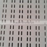 Perforated pvc gypsum ceiling tiles / punched hole pvc gypsum ceiling tiles / perforated plasterboard ceiling