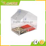 Wholesale plastic acrylic window bird feeder /Squirrel Proof /Sliding Tray & Elderly /Plastic bird feeder as 009