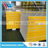 Cheap building materials cold room insulation pu panels,50mm-100mm cold room sandwich panel/wall panel