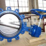 Cast Iron Lug Type Butterfly Valve(Gear Operated)