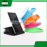 multi rotate plastic desktop table pad cell mobile phone bracket stand support holder with storage box