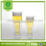 hot style promotion double wall beer glass cup