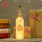 beauty lamp wine bottle shaped colorful blingbling shining battery operated eco-friend string light holiday bottle cup