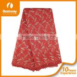 Factory Wholesale African Heavy Lace Fabric CP0035-1 African Guipure Lace Fabric For Party