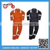 Custom Safety Workwear /Fireproof Flame Retardant Orange Reflective Safety Boiler Suit Coverall Overall
