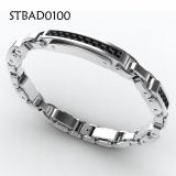 Men's Biker 316L Stainless Steel Motorcycle Chain Bracelet