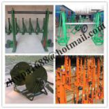 factory Hydraulic Cable Jack Set,Cable Drum Jacks,Use Mechanical Drum Jacks