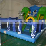 Inflatable bouncer castle, inflatable dophin combo jumper castle, inflatable air trampoline