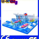 Double toy surfboard for children surfboards surfing surfboard simulator