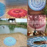"Indian Round Mandala Table Cloth Beach Throw Hippie Yoga Mat Towel Bohemian 72"" Round Table Cover Throw Wholesale Lot ROUND Art"