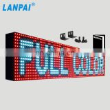 high brightness outdoor use waterproof programmable led display