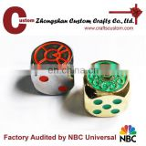 Best Quality Buy 6 20 Sided Engraved Game Logo Printed Metal Dice Custom Enamel Pins Manufactur