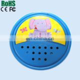 80mm Diameter ABS Plastic Voice Recorder For Kids