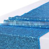 sequin table runner for banquet decoration