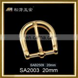 Song A High quality genuine gold plating excessive supply Metal bag clip buckle