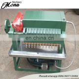 Essential used cooking oil filter machine coconut oil processing machine with international standard