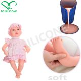 100% Grade Silicone Rubber Soft Silicone To Make Own Reborn Baby Doll