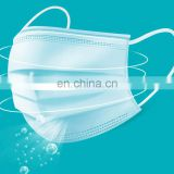 Hot Sale 3 ply Disposable Face Mask face shield with ear loop