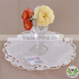 hot-sale white hand embroidery tablecloth hotel table cloth/table cover/napkin/wholesale tablecloth