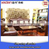 luxury modern hotel furniture latest design leather sofa set