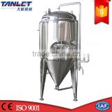 stainless steel wine alcohol fermenting beer brewing equipment