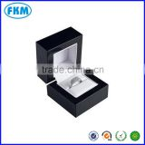 black luxury jewelry ring earring gift paper packaging boxes for wedding present wholesale