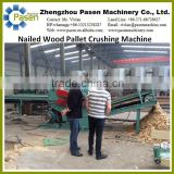 Waste Wood Pallet Chipper Machine with Nails|Waste Wood Pallet Chipper|Nail Wooden Pallet Crusher/Crushing Machine Price