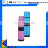 Promotional double wall stainless steel sports bottle/water bottle/sport water bottle