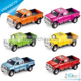 Music Light Door Open Pull Back Diecast Truck Model Toy
