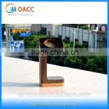 Factory price wood stand for apple watch, for apple watch stand wood