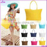 Hot New Design Straw Popular Summer Style Weave Woven Shoulder Tote Shopping Beach Bag Purse Handbag