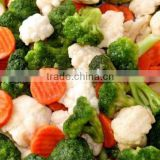 IQF Mix Vegetable(broccoli,cauliflower,carrot,stalk)