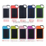 Free Sample Factory Wholesale Key Chain Solar Charger Solar Power Bank USB Phone Charger