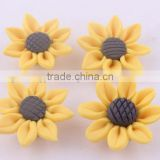Jump Price loose !!Wholesale new handmade polymer clay flower for DIY fashion jewelrys!! Cheapest!! !!