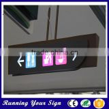 Hot sale! waterproof LED indoor toilet signs