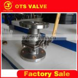QV-LY-008 italy rb kitz ball valve with low price
