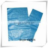 Huazheng recycled blue woven pp sacks,anti-slip or plain surface /wholesale packaging pp bags made in China