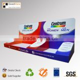 Drug store medicine small carton counter tabletop cardboard box stand for display                                                                         Quality Choice
