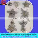 Accessories lighting accessories hand woven metal iorn wire Christmas tree angels characters heart-shaped flowers star ball