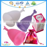 100% Medical Grade Silicone Menstruation Cups Feminine Hygiene Reusable Woman Menstrual Cup